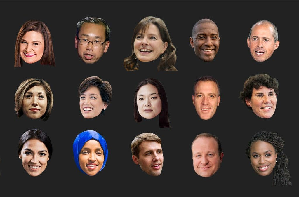 The Faces of Change in the Midterm Elections