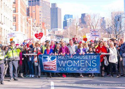 Boston Women's March for America 2017